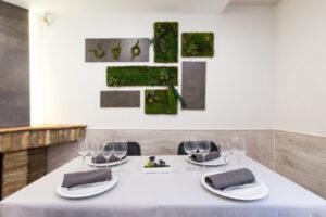 Mesa para 4 en comedor Restaurante Casa Pedro